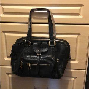 See by Chloe black leather bag